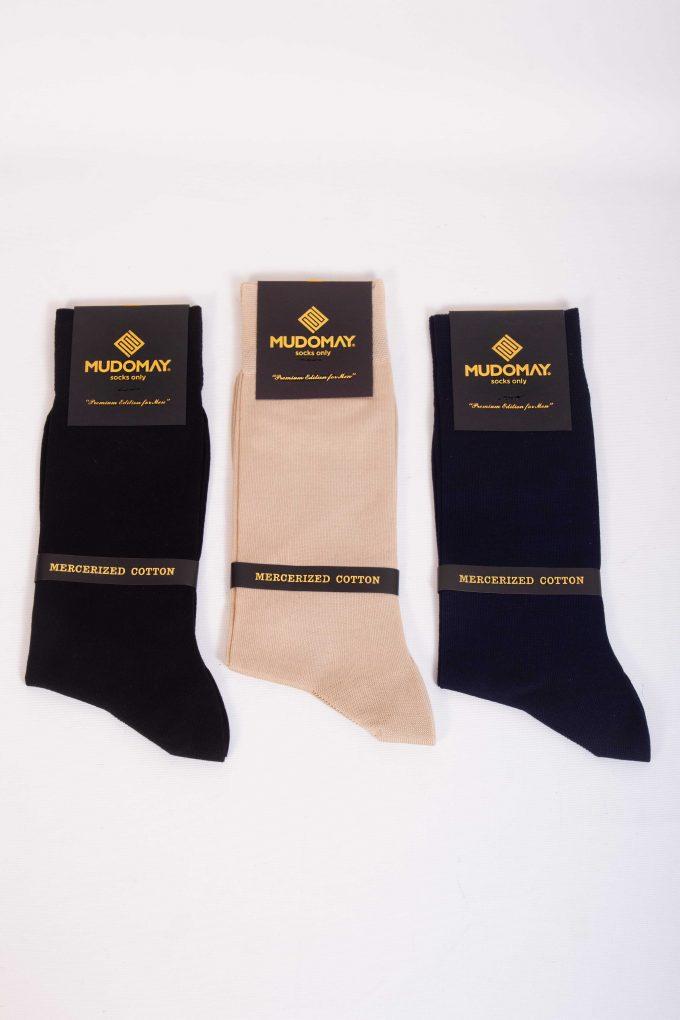 11001 Mudomay Yazlık Erkek Soket Merserize Çorap