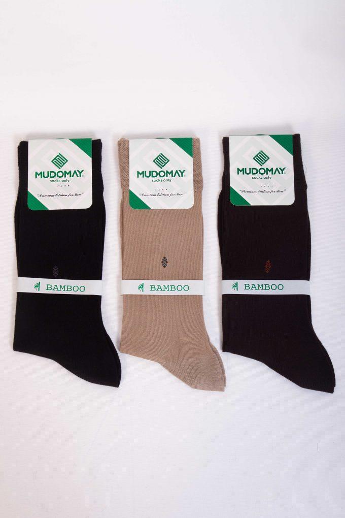13825-2 Mudomay Yazlık Erkek Soket Bambu Çorap