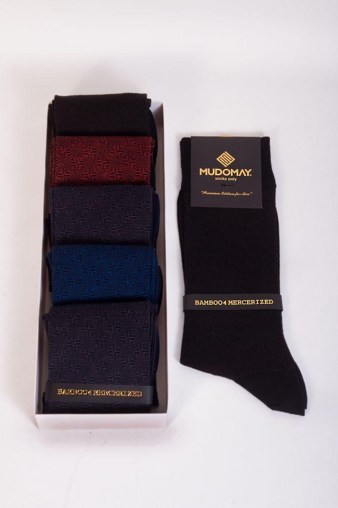 17120 Mudomay Yazlık Erkek Soket Bambu Merserize Çorap