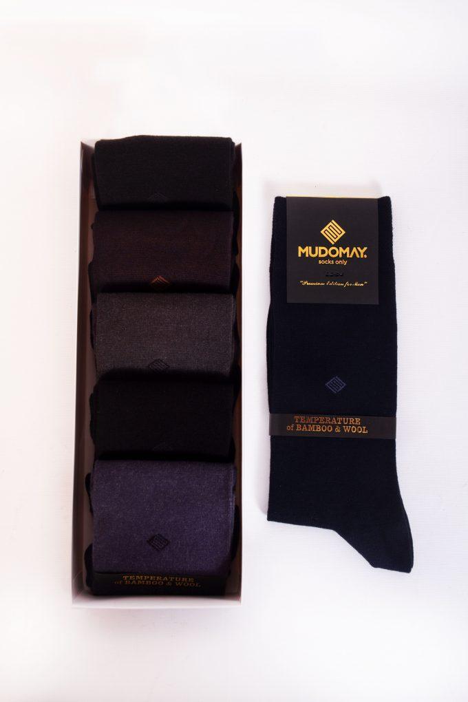23440 Mudomay Kışlık Erkek Soket Bambu Yün Çorap
