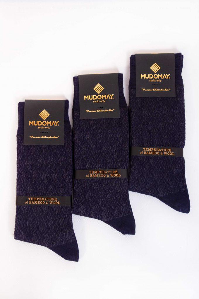 23620-Laci Mudomay Kışlık Erkek Soket Bambu Yün Çorap
