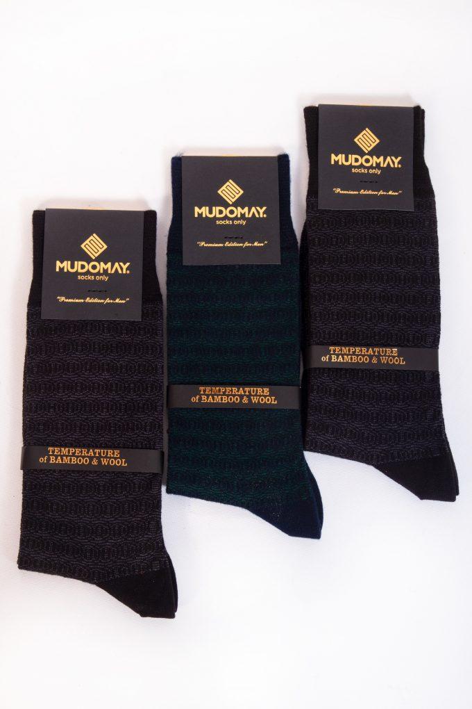 23920 Mudomay Kışlık Erkek Soket Bambu Yün Çorap