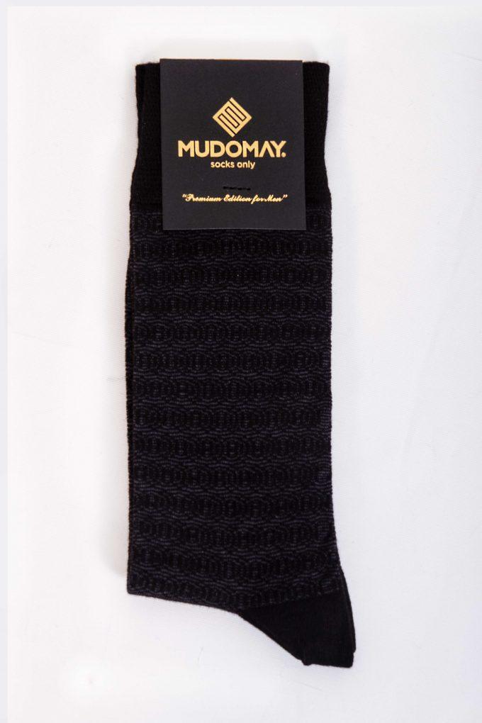 23920-Siyah Mudomay Kışlık Erkek Soket Bambu Yün Çorap