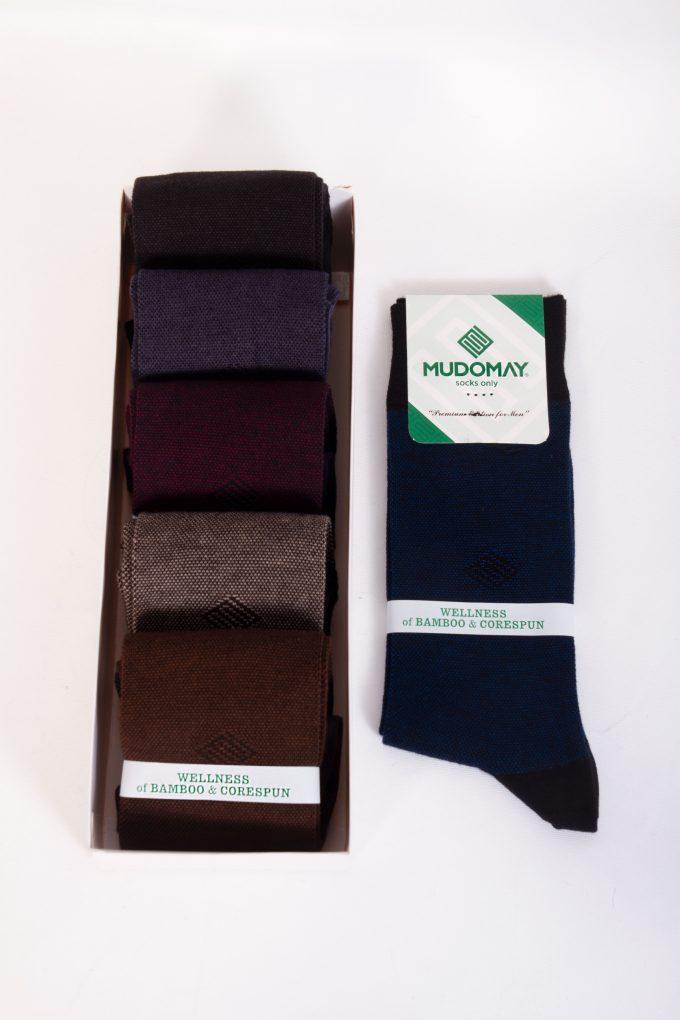 26239-1 Mudomay Kışlık Erkek Soket Bambu Corespun Çorap