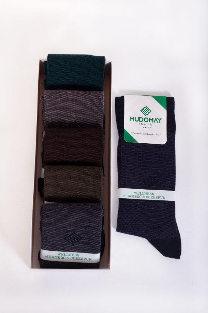 26239-2 Mudomay Kışlık Erkek Soket Bambu Corespun Çorap