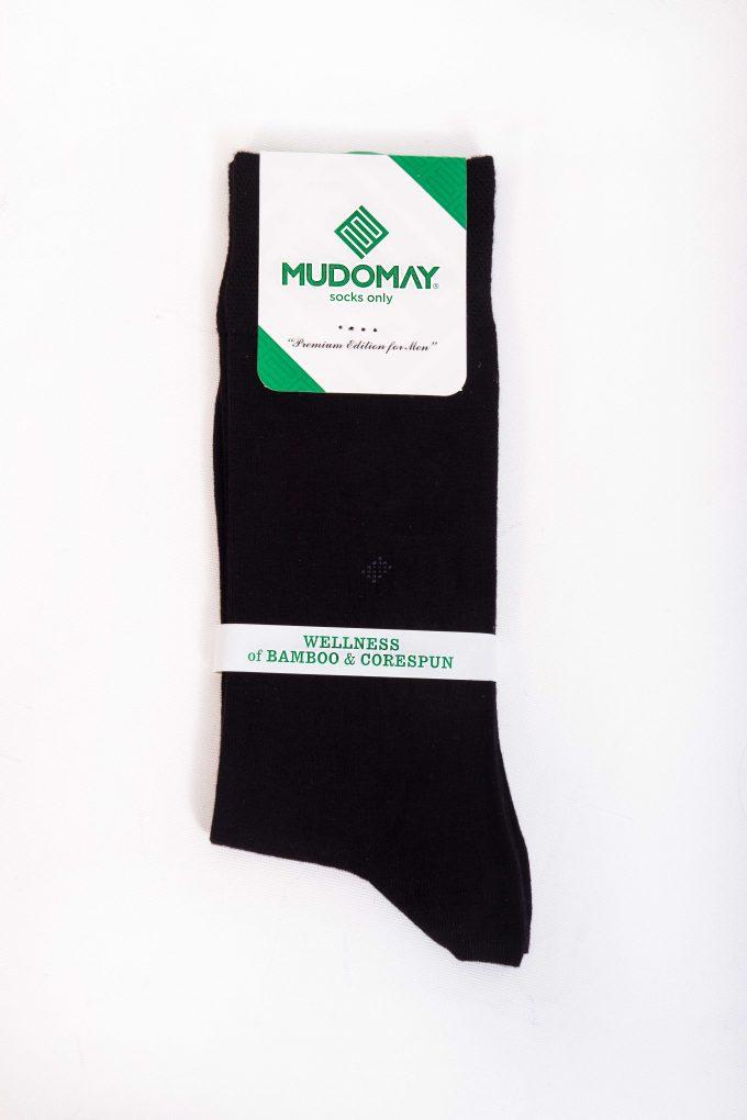26347-Siyah Mudomay Kışlık Erkek Soket Bambu Corespun Çorap