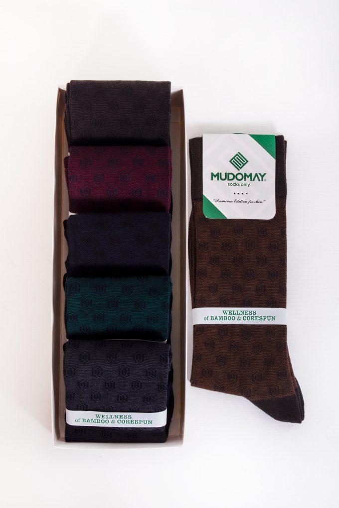 26760-1 Mudomay Kışlık Erkek Soket Bambu Corespun Çorap