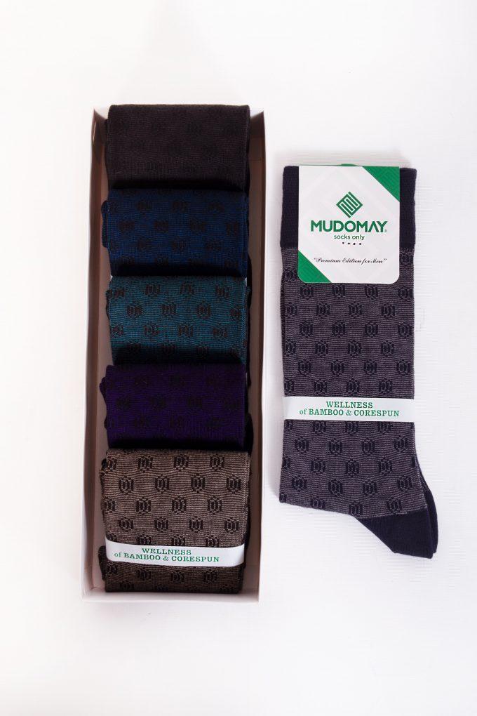 26760-2 Mudomay Kışlık Erkek Soket Bambu Corespun Çorap