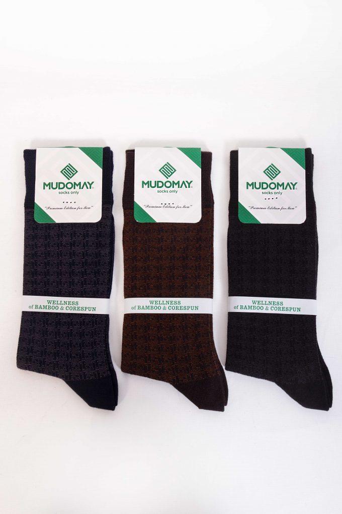 26970-1 Mudomay Kışlık Erkek Soket Bambu Corespun Çorap