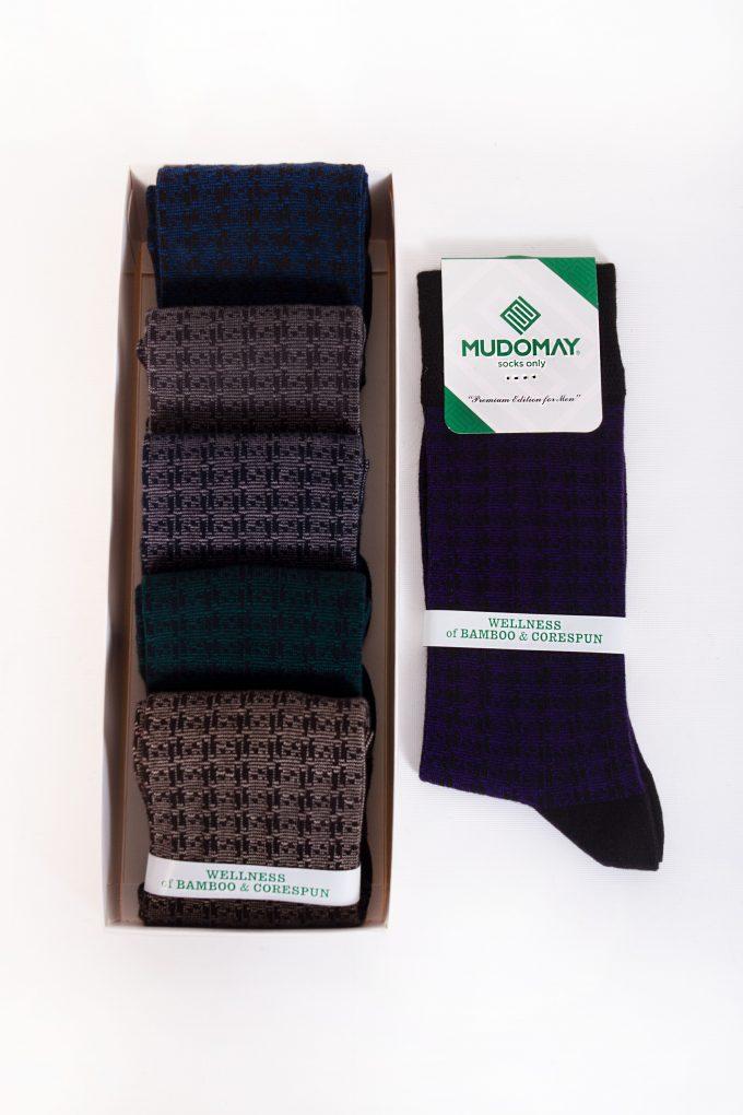 26970-2 Mudomay Kışlık Erkek Soket Bambu Corespun Çorap