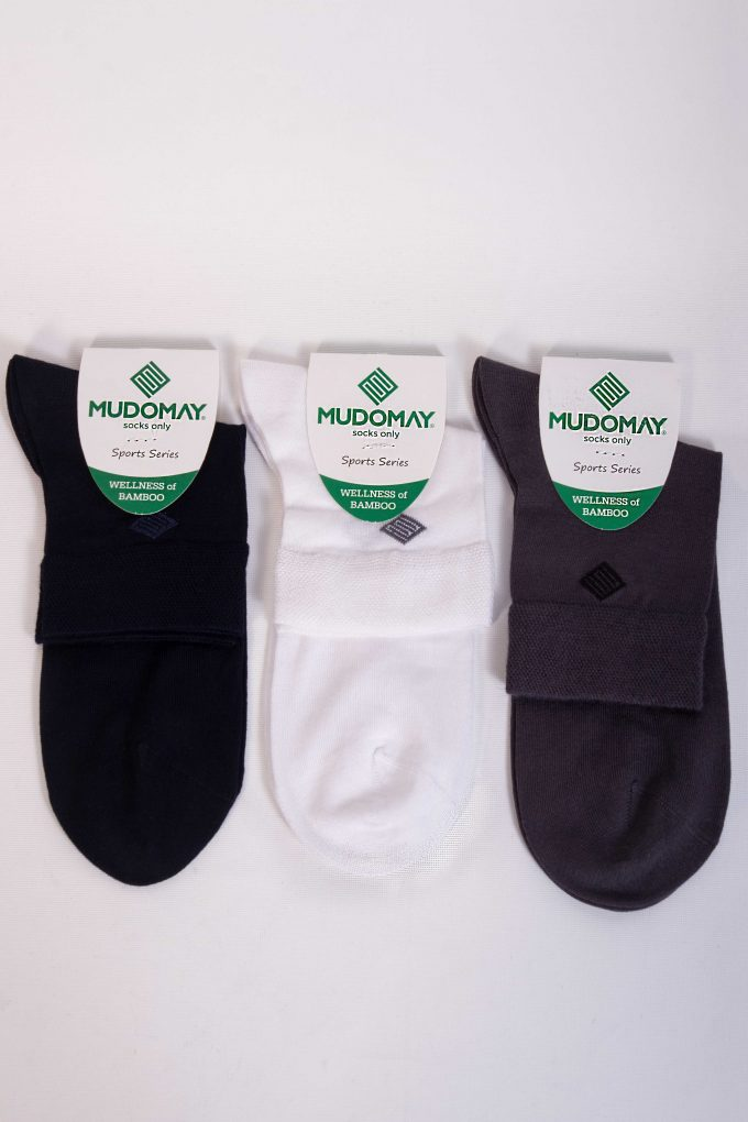 43030 Mudomay Yazlık Erkek Kısa Soket Bambu Çorap