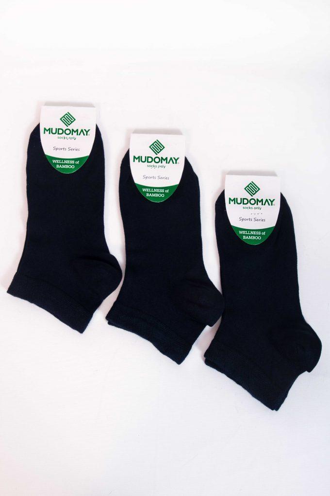 59001-1 Mudomay Yazlık Erkek Patik Bambu Lacivert Çorap
