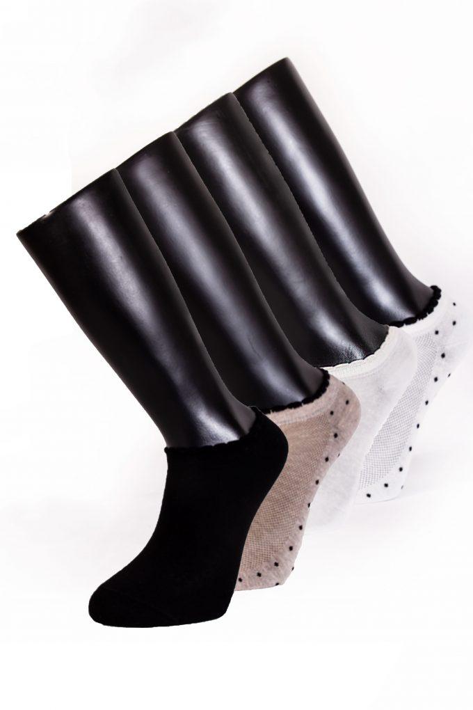95304 Davetta Tasarım Patik Pamuk Çorap