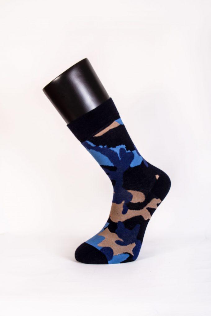 95502 Davetta Tasarım Soket Pamuk Çorap (35-38)