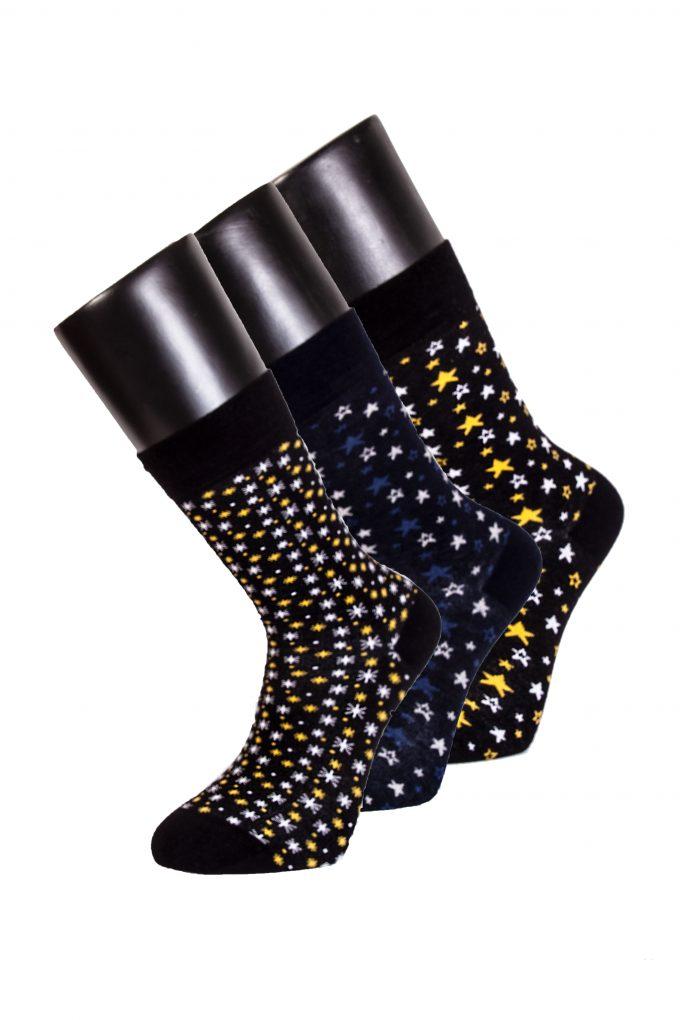 95503 Davetta Tasarım Soket Pamuk Çorap (39-42)