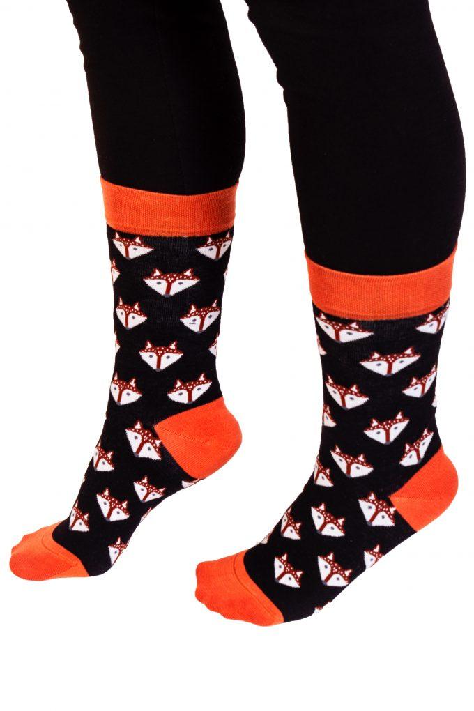 95501 Davetta Tasarım Soket Pamuk Çorap (35-38)